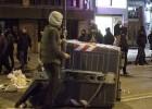 Los disturbios vuelven al barrio burgalés de Gamonal tras 10 meses