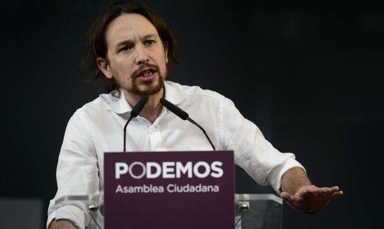 El primer discurso de Pablo Iglesias como líder, en sus frases clave