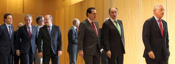 Toma de posesión de José Luis Bonet (Freixenet) como presidente de la Cámara de Comercio.