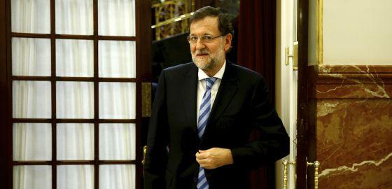 Mariano Rajoy en el Congreso de los Diputados, el 29 de octubre pasado.