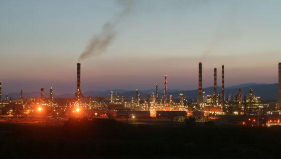 Petroquímica de Tarragona, polígono norte.