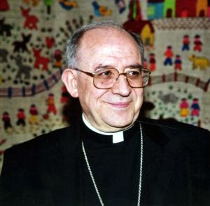 Francisco Gil Hellín, arzobispo de Burgos en 2002.