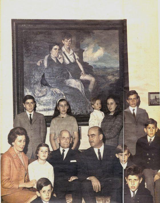 La familia Oriol en una imagen de archivo.