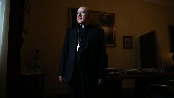 Carlos Osoro, arzobispo de Madrid, este sábado en el Palacio Arzobispal.