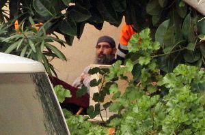 Mustafá Maya, reclutador de yihadistas durante su detención en Melilla.