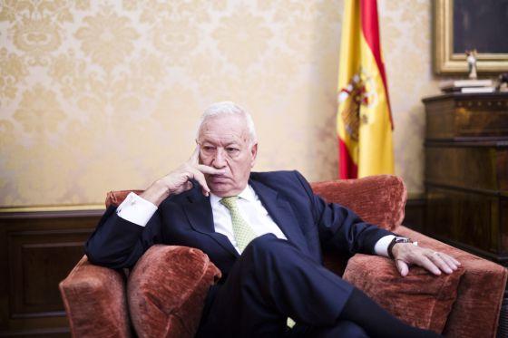 Jose Manuel Garcia-Margallo, ministro de Asuntos Exteriores