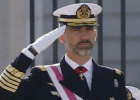 Felipe VI pays tribute to his father as he presides first Pascua Militar