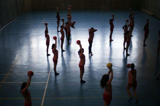 Alumnos del colegio Estudio de Madrid.