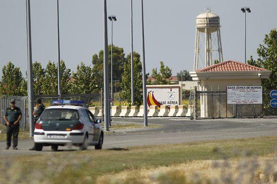 Base aérea de Morón de la Frontera (Sevilla).