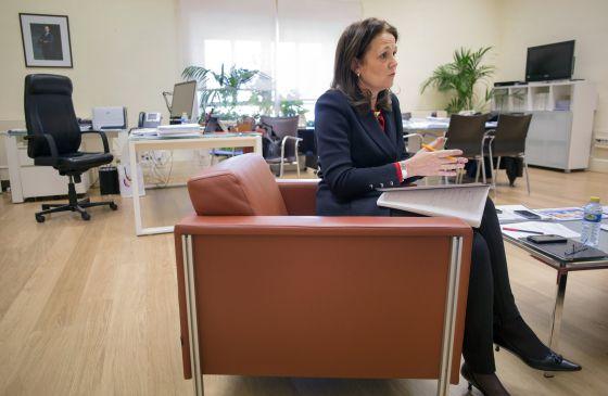 La secretaria de Estado de Educación, Monserrat Gomendio, en su despacho el pasado viernes.