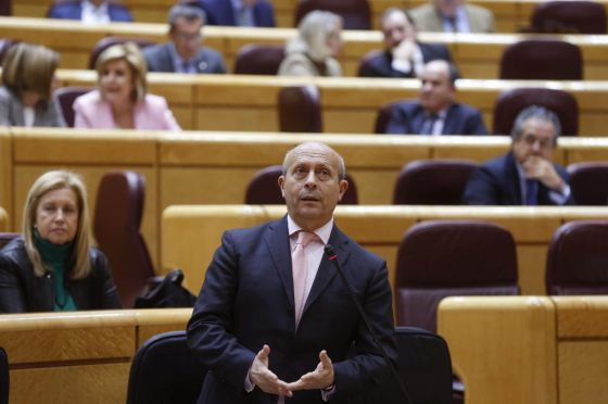 El ministro de Educación, José Ignacio Wert, en el Congreso de los Diputados.