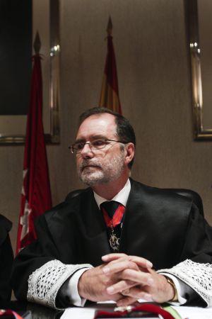 Francisco Javier Vieira, en la ceremonia de apertura del año judicial de septiembre de 2013.
