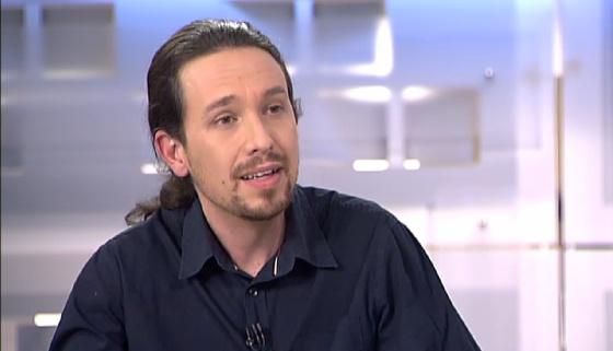 Pablo Iglesias en Telecinco