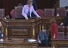 Joan Baldoví sufre un vahído durante la intervención en el debate