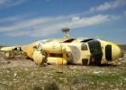 Aparece en Níjar un helicóptero volcado sin tripulantes ni carga