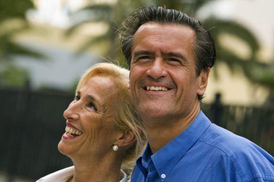 Natalia de la Nuez y Juan Fernando López Aguilar