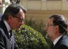 Mariano Rajoy ensalza ante Artur Mas la españolidad de Barcelona