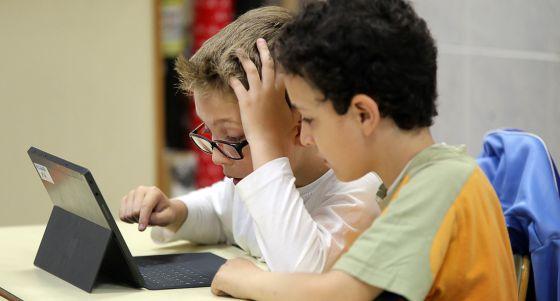 Alumnos de 3º de Primaria de un colegio de Valencia.rn   rn    rn  rn  rn  rn