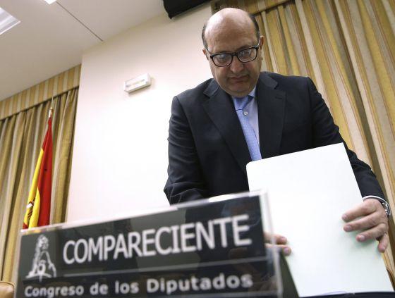 El presidente del Tribunal de Cuentas, Ramón Álvarez de Miranda, el pasado abril.