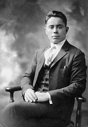 Emilio Silva Faba, en 1920.