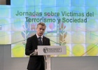 """Urkullu hace """"autocrítica"""" al trato dado a las víctimas del terrorismo"""