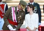 Aplausos y vítores a los Reyes en su primer Día de las Fuerzas Armadas