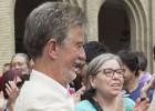 El nuevo alcalde de Zaragoza logra el mando arropado por las mareas