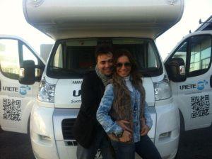 José Manuel Ramírez Marco y su pareja, Pilar Otero