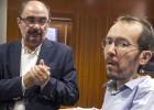 """Podemos define su pacto con el PSOE en Aragón: """"Un mal menor"""""""