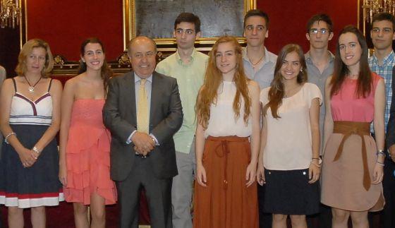 El alcalde de Granada Torres - Hurtado