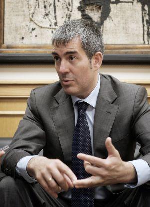 El presidente de Canarias, Fernando Clavijo Batlle.