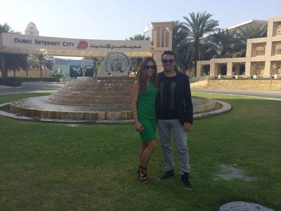 Los presuntos cabecillas de Unetenet, Pilar Otero y José Manuel Ramírez Marco, en Dubai