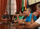 Díaz dice que estará vigilante sobre las garantías de empleo en Morón