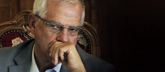 El expresidente del Parlamento Europeo Josep Borrell, el pasado julio.