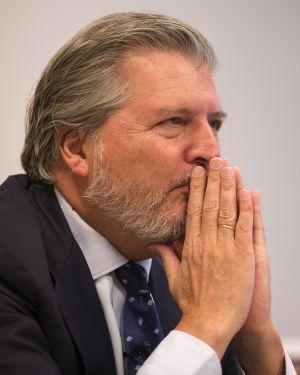 Íñigo Méndez de Vigo durante la entrevista.