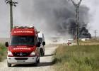 Seis muertos al explotar una empresa pirotécnica en Zaragoza