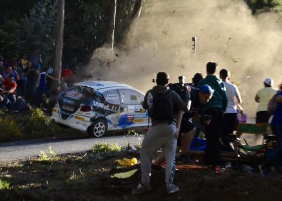 Accidente de rally de A Coruña