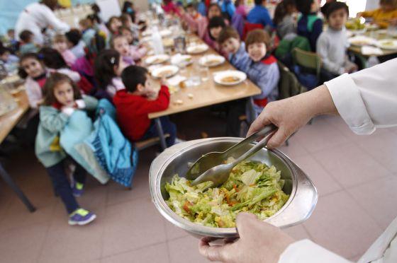 Curso escolar 2015 el comedor escolar cuesta el doble en for Curso cocinero comedor escolar