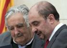 Mujica visita el pueblo donde vivió el abuelo del libertador de Uruguay