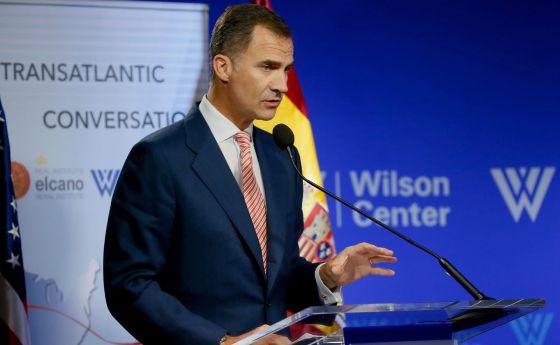 El Rey pide a inversores de EE UU confiar en España