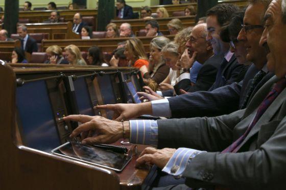 Votación de la propuesta de reforma constitucional en el Congreso el pasado 14 de septiembre.