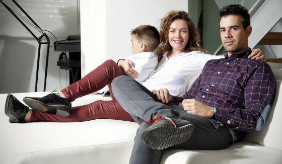 Lorena y Pablo se casaron tras 10 años de convivencia y dos después de que naciera su hijo
