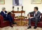Kerry se reúne con Pedro Sánchez antes de abandonar España