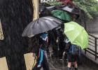 Canarias suspende las clases ante la alerta naranja por lluvias