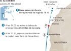 Hallada la cabina del helicóptero que cayó en el Atlántico