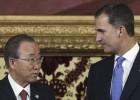 """Ban Ki-Moon: """"Necesitamos una España unida para trabajar mejor"""""""