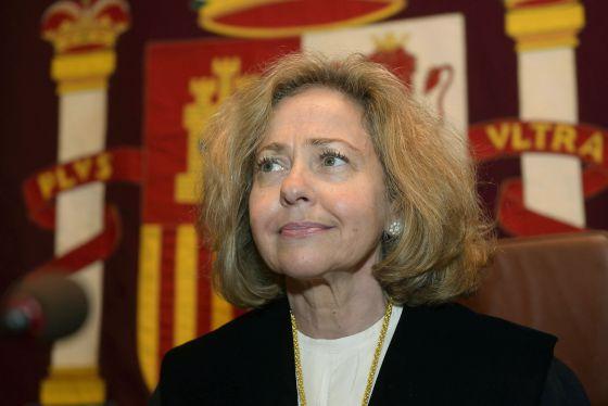 La fiscal general del Estado, Consuelo Madrigal, en una imagen de archivo.