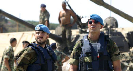 Cascos azules de la ONU en Líbano