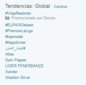 #ELPAÍSDebate, 'trending topic' global con unas 300.000 menciones en Twitter.