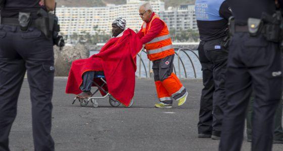 Un inmigrante llegado a las Islas Canarias